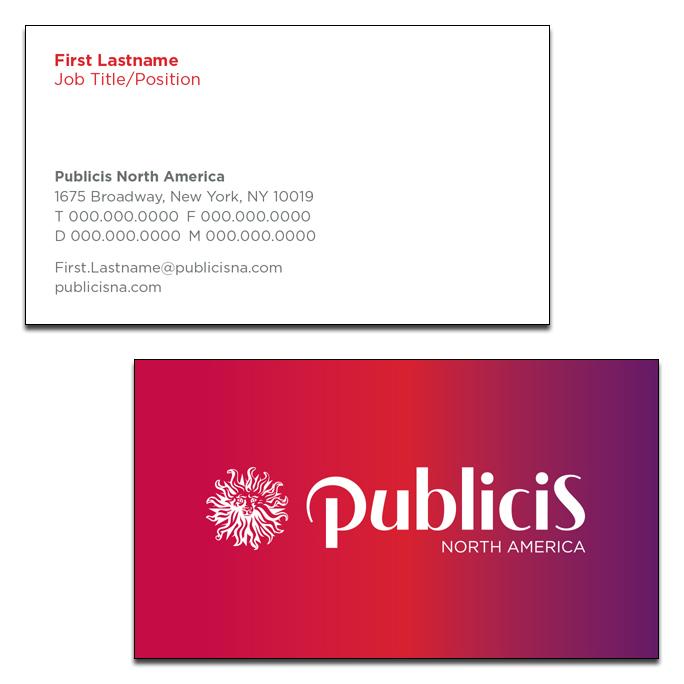 Shop publicis business cards reheart Choice Image